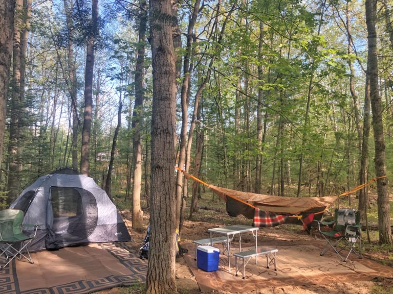 Campsite at the Camp